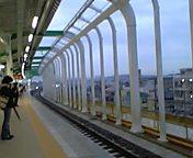 新しくなった駅