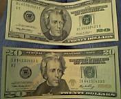 ドル札が変わった
