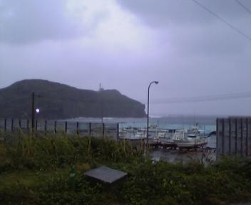 今日は雨の与那国でした